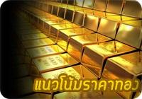 ราคาทองคำวันนี้ แนวโน้มราคาทองคำวันนี้