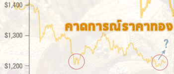 แนวโน้มราคาทองคำวันนี้คาดฟื้นตัวขึ้นระยะสั้น